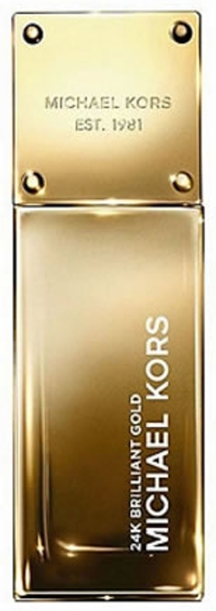 MULTI BUNDEL 2 stuks Michael Kors 24K Brillant Gold Eau De Perfume Spray 50ml