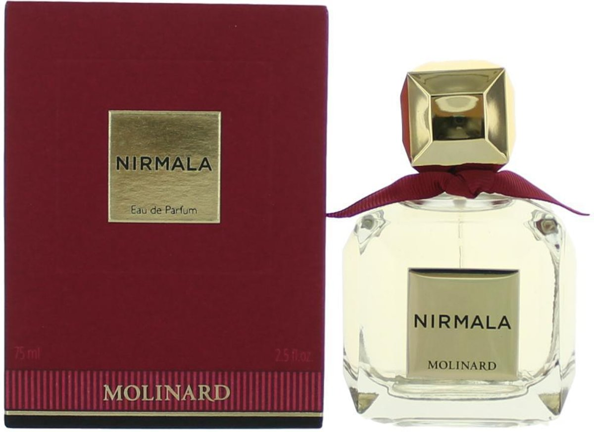 Molinard Nirmala 75 ml - Eau de Parfum Spray (New Packaging) Women