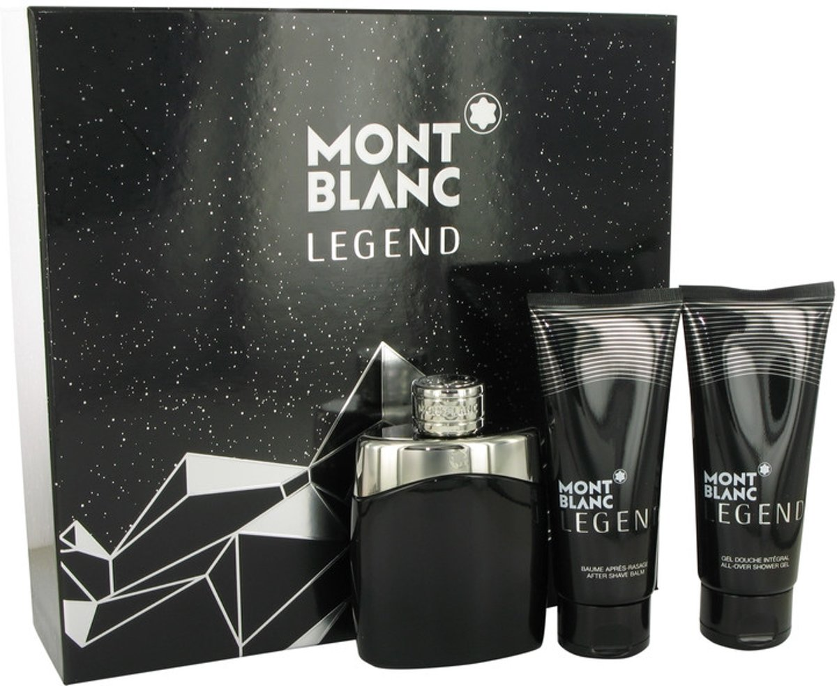 Mont Blanc Montblanc Legend -- - Gift Set 100 ml Eau De Toilette Spray   100 ml After Shave Balm   100 ml Shower Gel Men