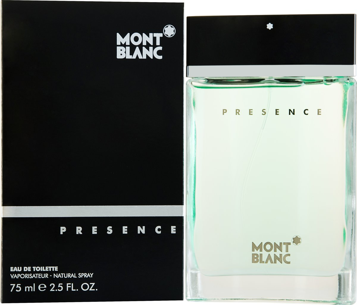 Montblanc Presence Men Spray - 75 ml - Eau De Toilette