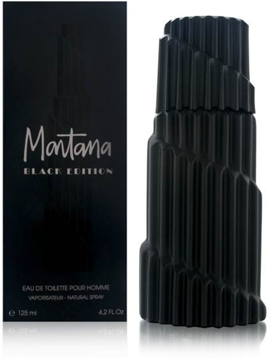 Montana - Eau de toilette - Black Edition for men - 125 ml