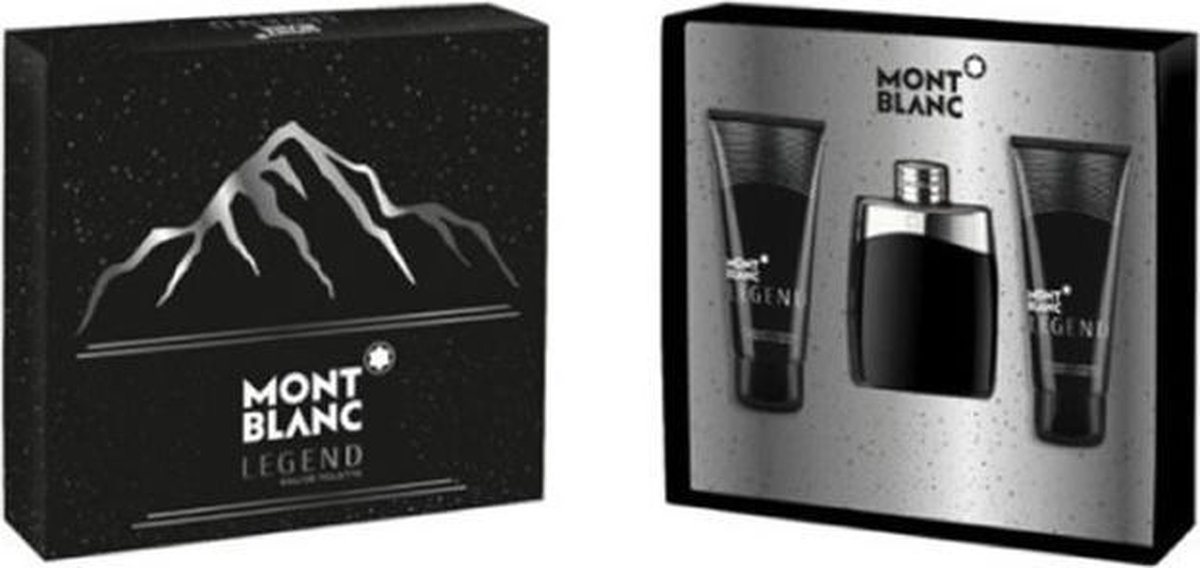 Montblanc Legend Eau De Toilette Spray 100ml Set 3 Pieces 2020