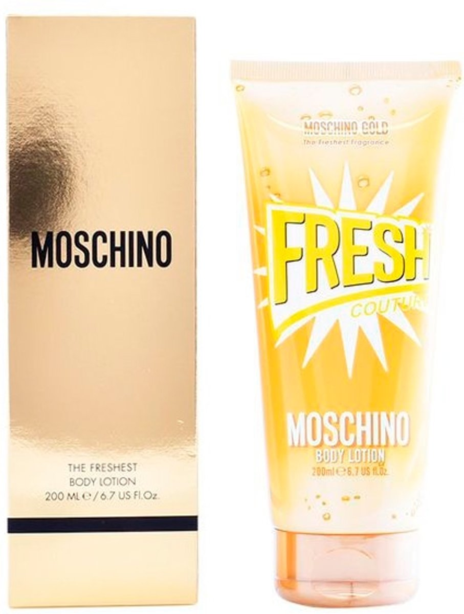 Body Lotion Fresh Couture Gold Moschino (200 ml)