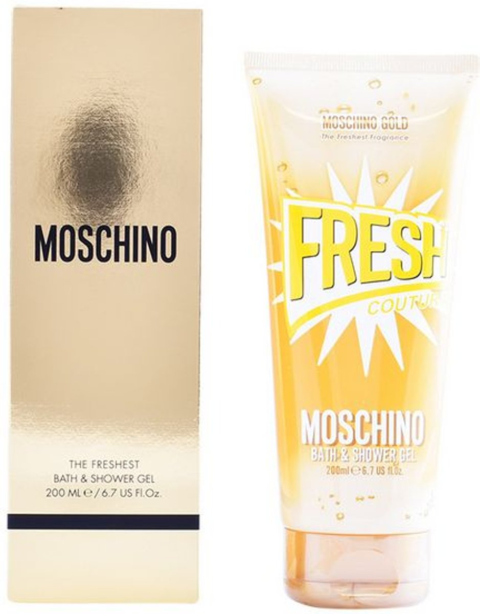 Douchegel Fresh Couture Gold Moschino (200 ml)