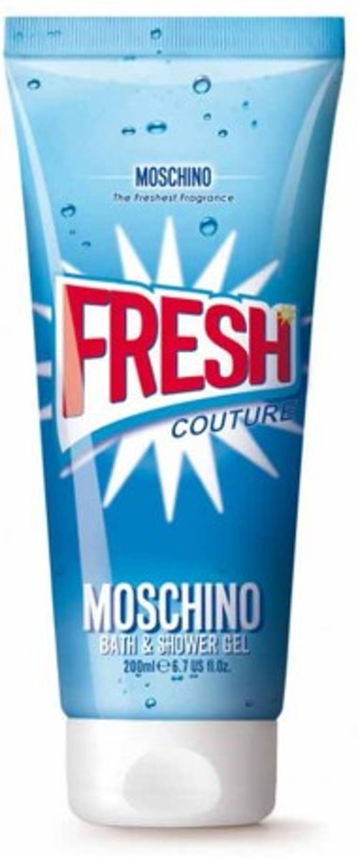 MOSCHINO FRESH COUTURE bath & douchegel 200 ml