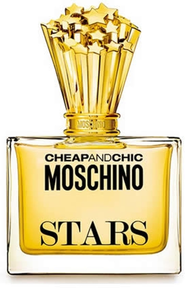 MULTI BUNDEL 2 stuks Moschino Stars Eau De Perfume Spray 100ml