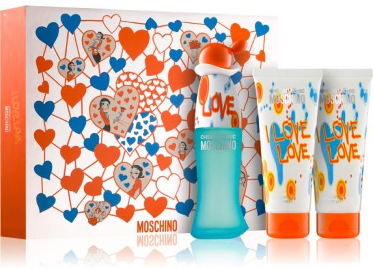 Moschino CHEAP AND CHIC LOVE LOVE SET 3 pz