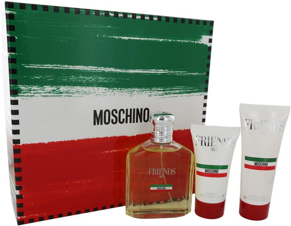 Moschino Gift Set 124ml EdT   50ml After Shave Balm   100ml Shower Gel Fragrance for Women