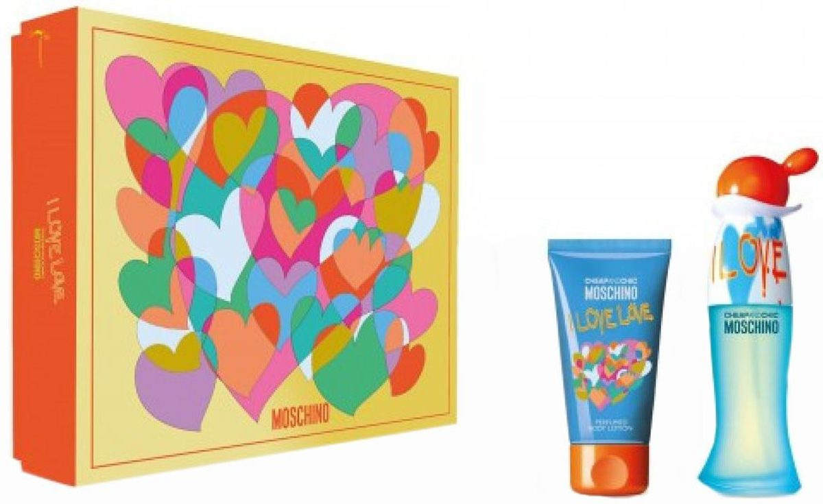 Moschino I Love Love EDT 30 ml + BL 50 ml set