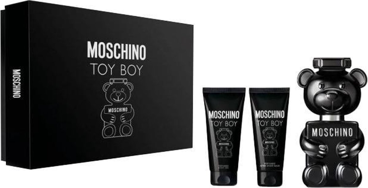 Moschino Toy Boy EDP 50 ml + Aftershave Balm 50 ml + SG 50 ml (man)