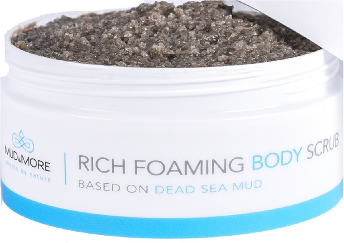 Mud & More Rich Foaming Bodyscrub 500 ml