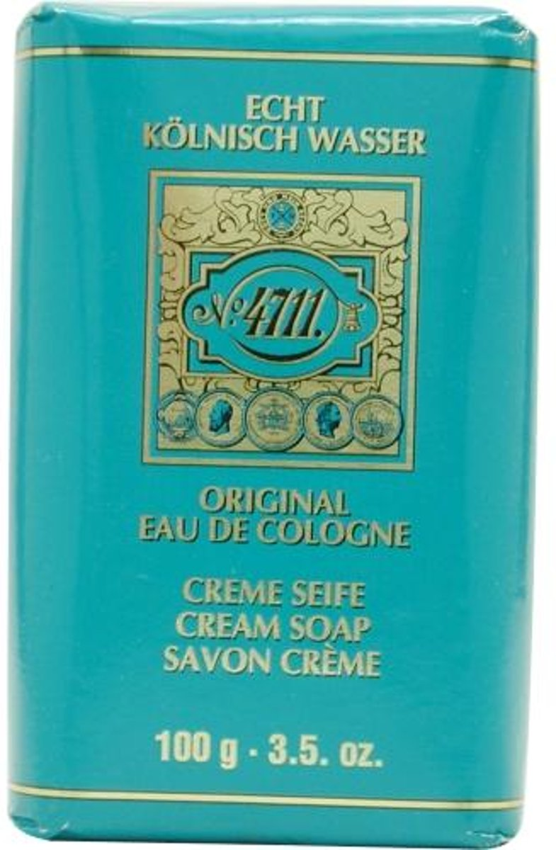 4711 By Muelhens Cream Soap 105 ml - Fragrances For Everyone