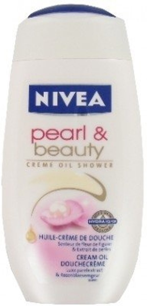 1 Fles Nivea Douchegel Pearl & Beauty 250 ml