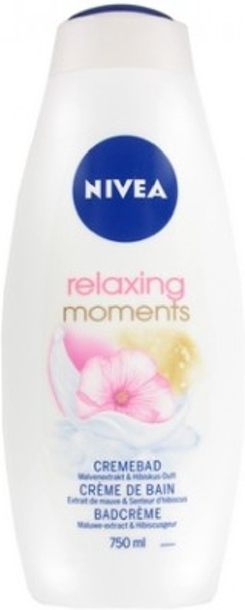1 Nivea Badcrème – Relaxing Moments 750 ml