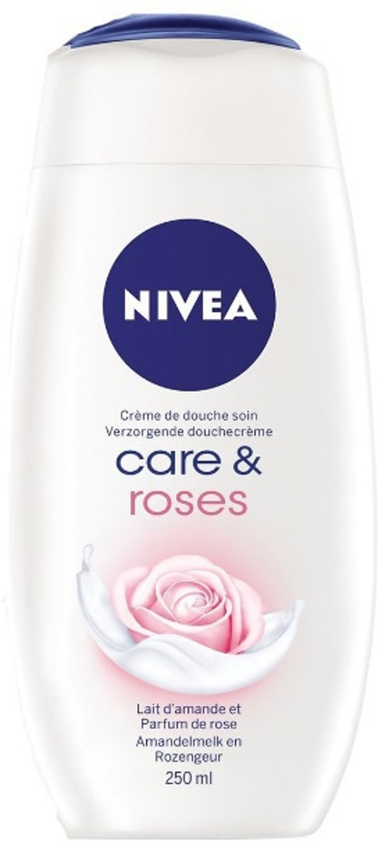Douchecreme care & roses