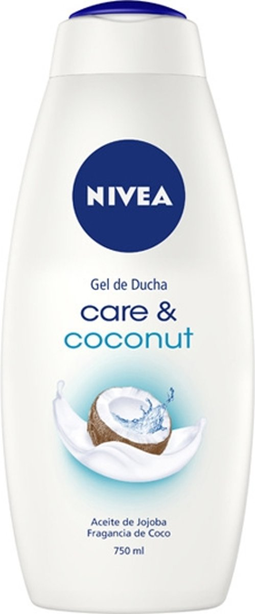 Douchegel Care & Coconut Nivea (750 ml)