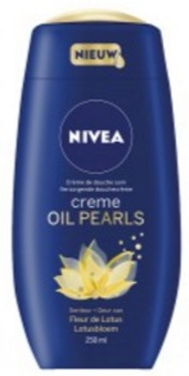 NIVEA DOUCHE CREME OIL PEARLS LOTUS
