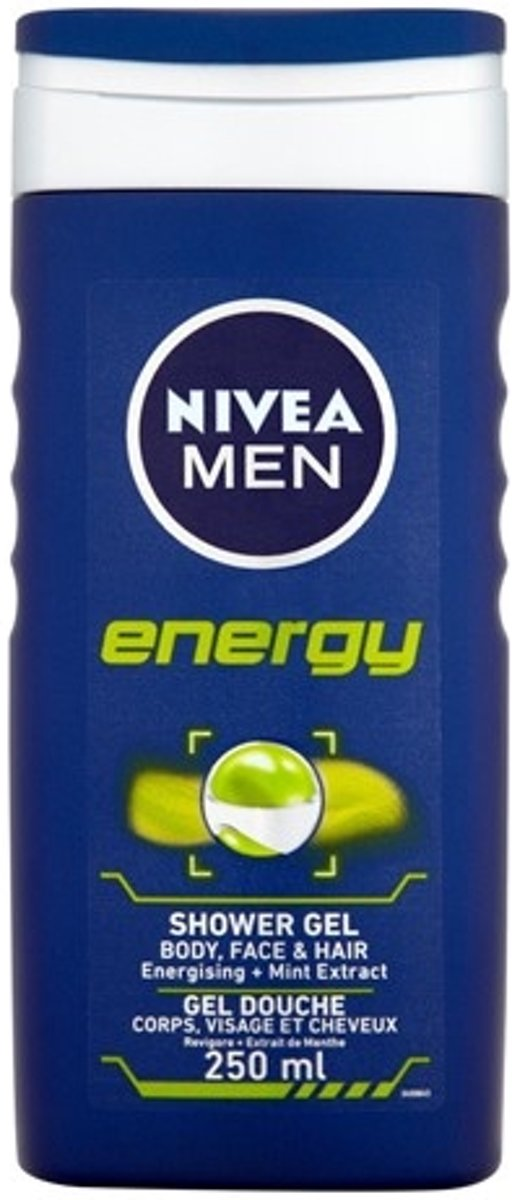 NIVEA MEN Energy - 250 ml - Douchegel