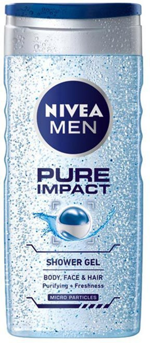 NIVEA MEN Pure Impact Douchegel