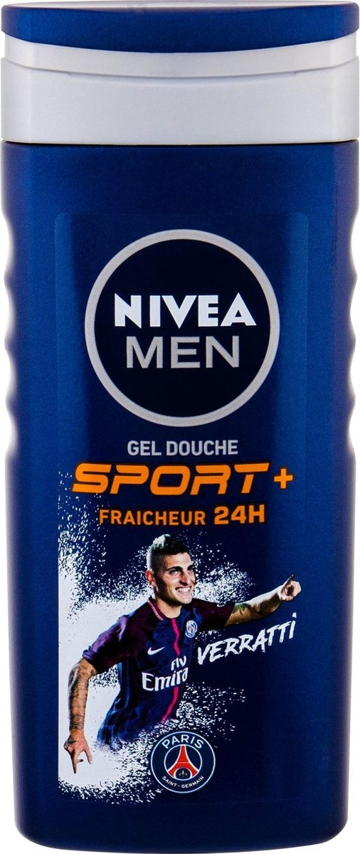 NIVEA MEN SportPlus douchegel - heren - 250 ml