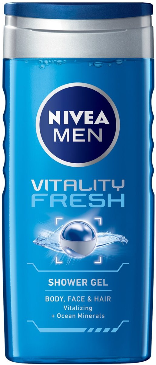 NIVEA MEN Vitality Fresh Douchegel
