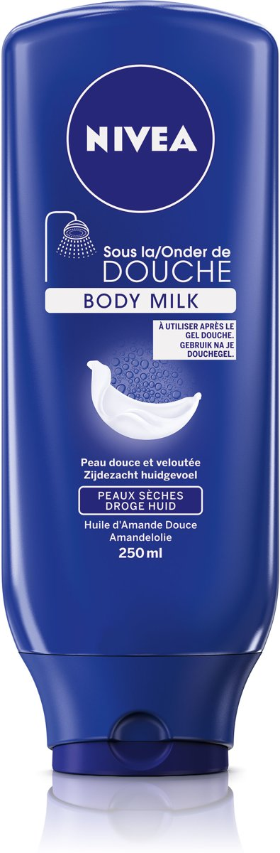 NIVEA Onder de Douche Verzorgend Body Milk - 250 ml