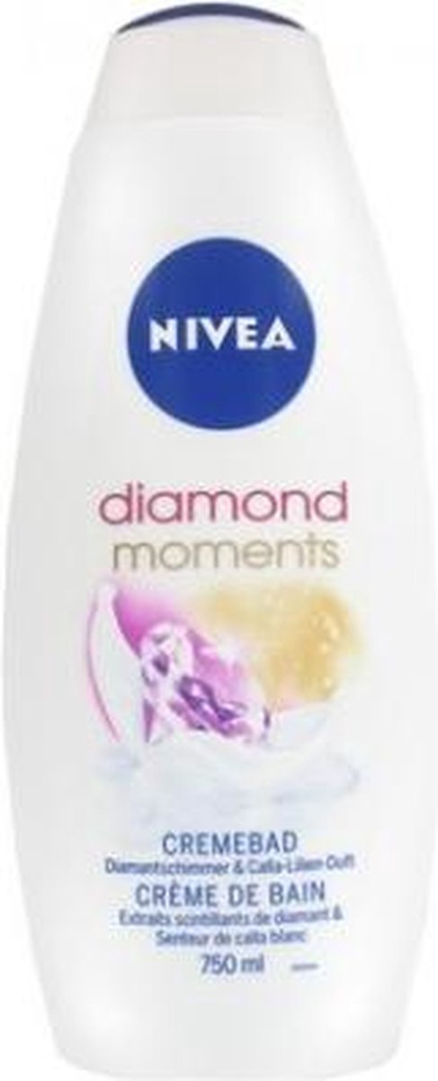 Nivea Badcrème – Diamond Moments 750 ml