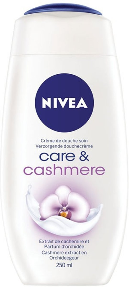 Nivea Care Cashmere showergel - 250ml