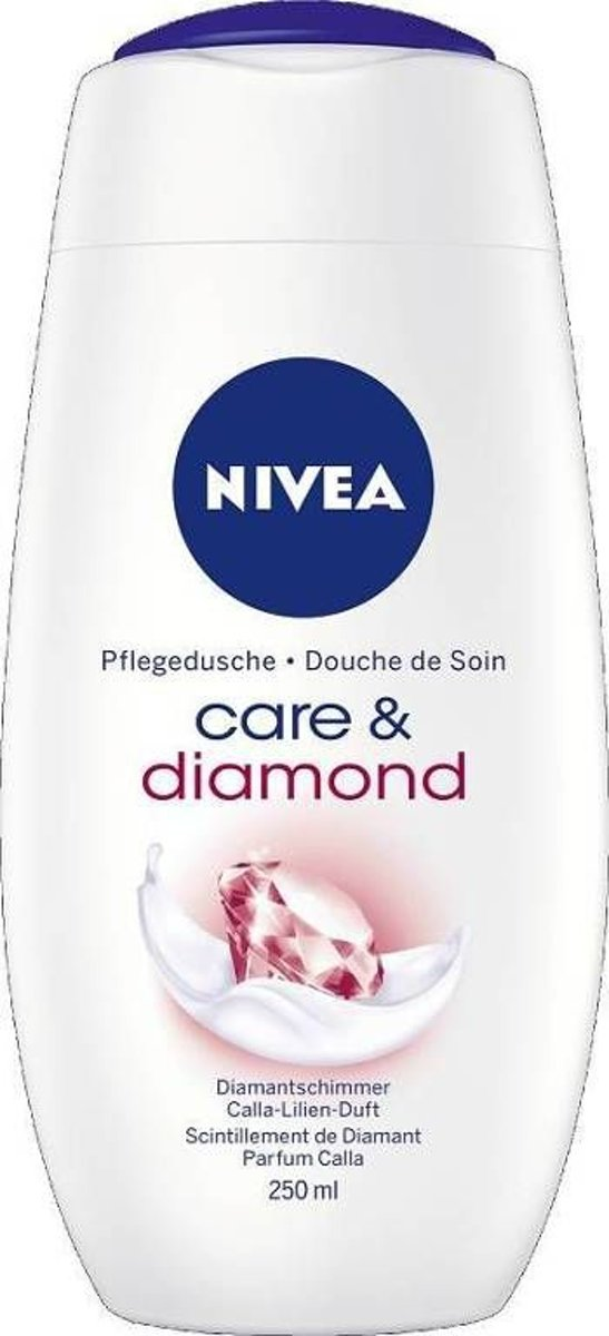 Nivea Douchegel - Care & Diamond 250 ml