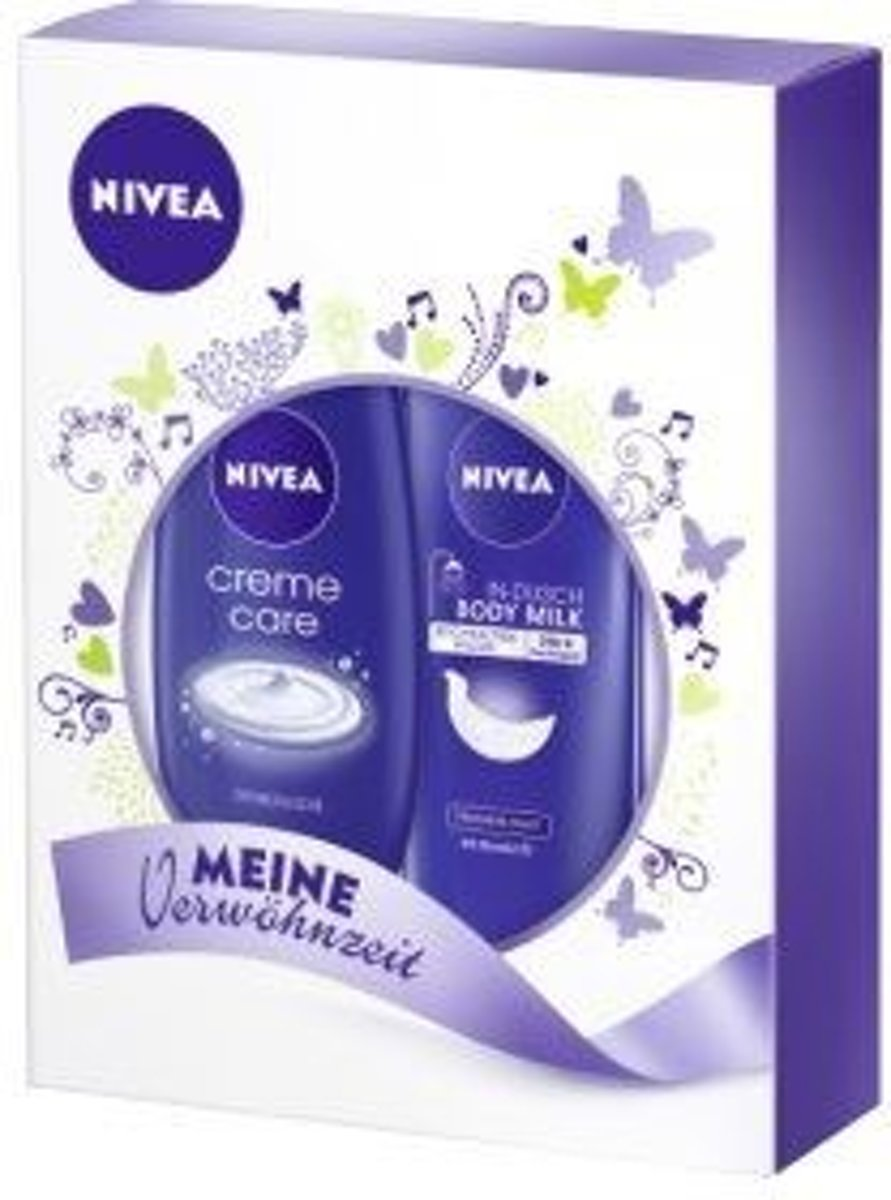Nivea Giftset For Women - BodyMilk 250ml + Shower Cream 250ml