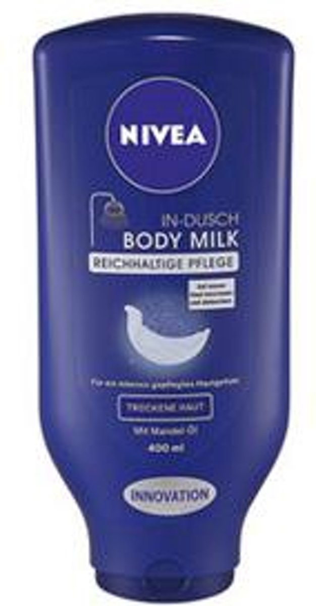 Nivea In-Shower Bodymilk Droge Huid met Amandelolie 400ml