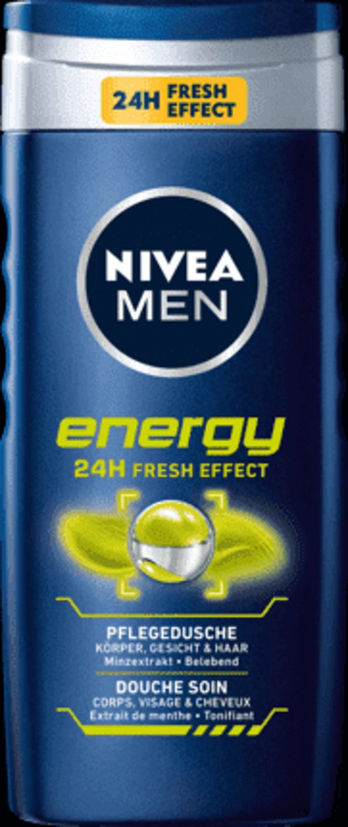 Nivea Men - Douchegel 24H Fresh Effect 250ml