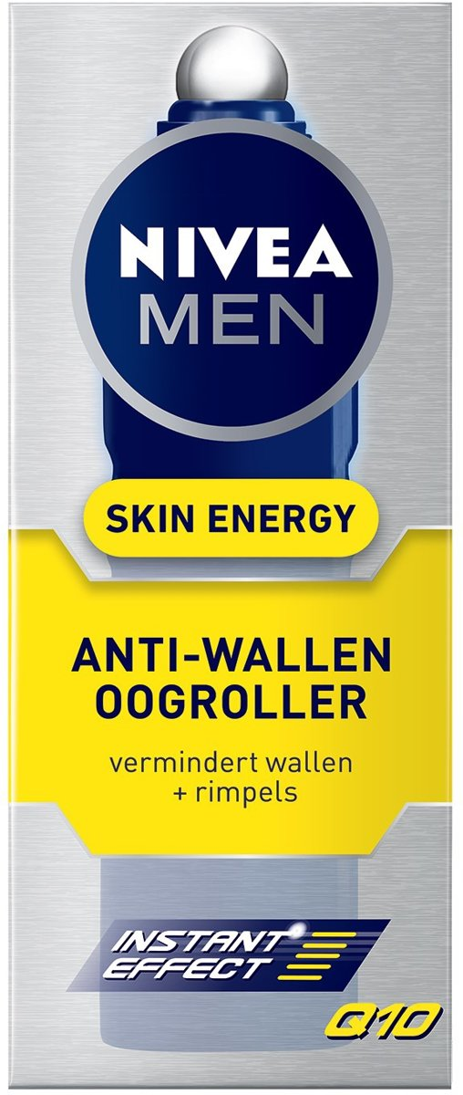 Nivea Men Anti-Wallen Oogroller Skin Energy Q10-10ml
