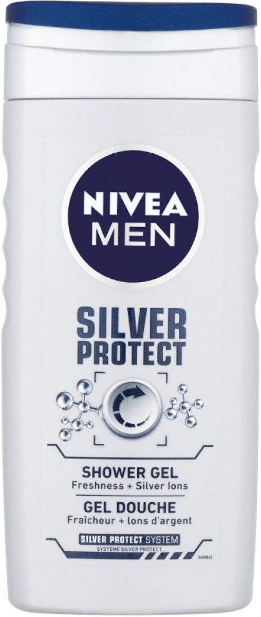 Nivea Men Showergel - Silver Protect 250 ml