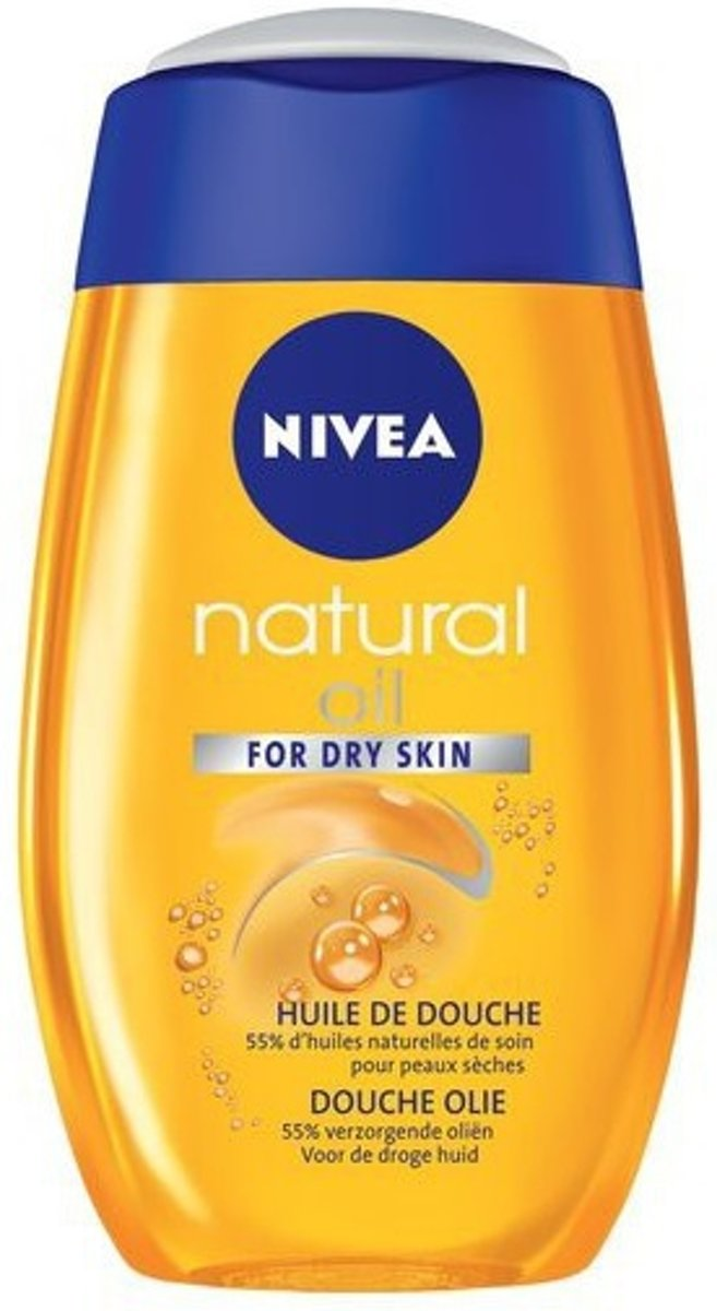 Nivea Natural Oil Verzorgende Doucholie 200ml