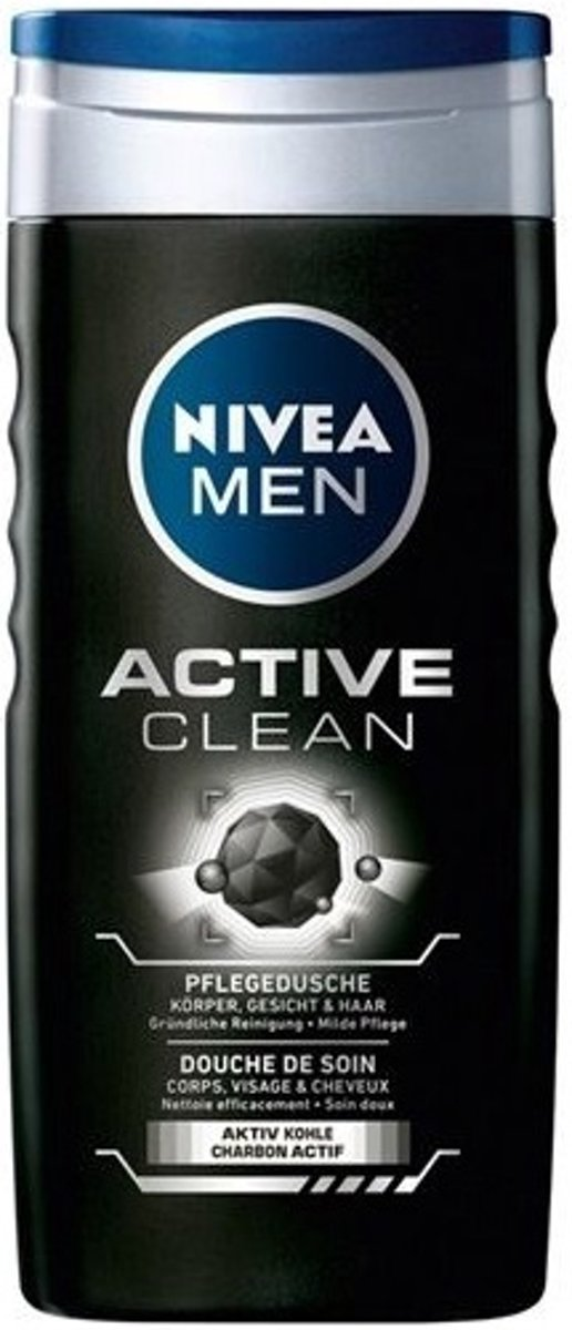 Nivea Showergel Activeclean FM - 250 ml