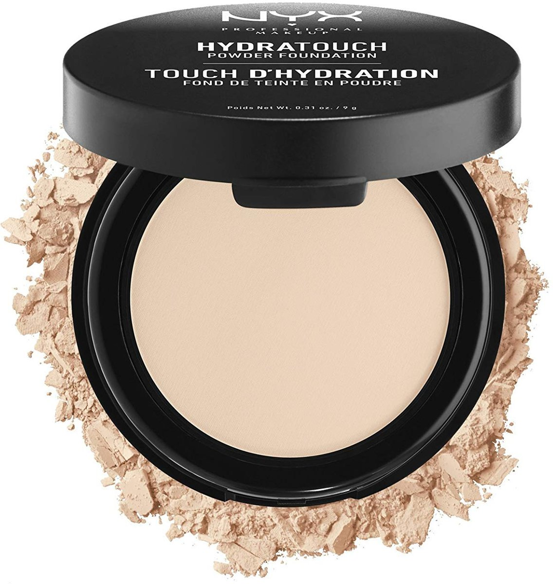 NYX Hydra Touch Powder Foundation Porcelain