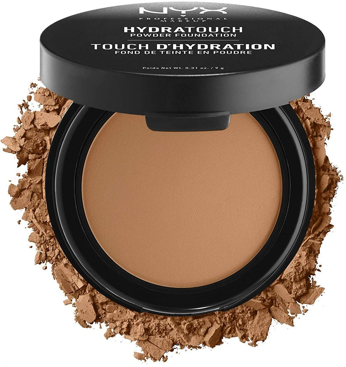 NYX Hydra Touch Powder Foundation Sable