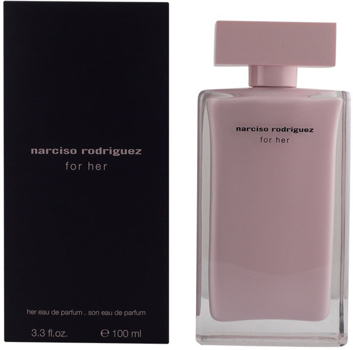 MULTI BUNDEL 2 stuks NARCISO RODRIGUEZ FOR HER Eau de Perfume Spray 100 ml