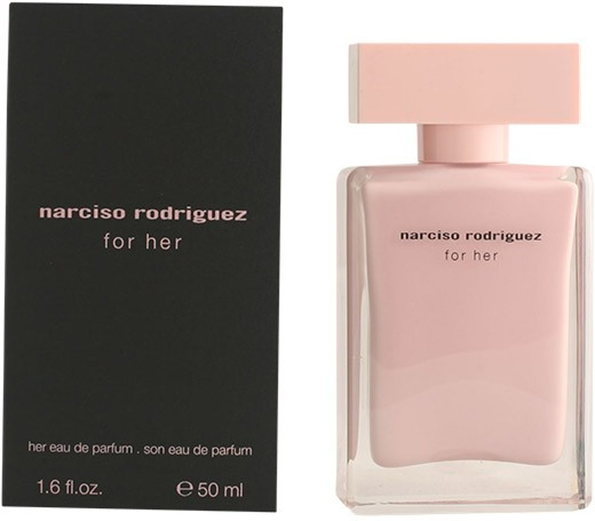 MULTI BUNDEL 2 stuks NARCISO RODRIGUEZ FOR HER Eau de Perfume Spray 50 ml