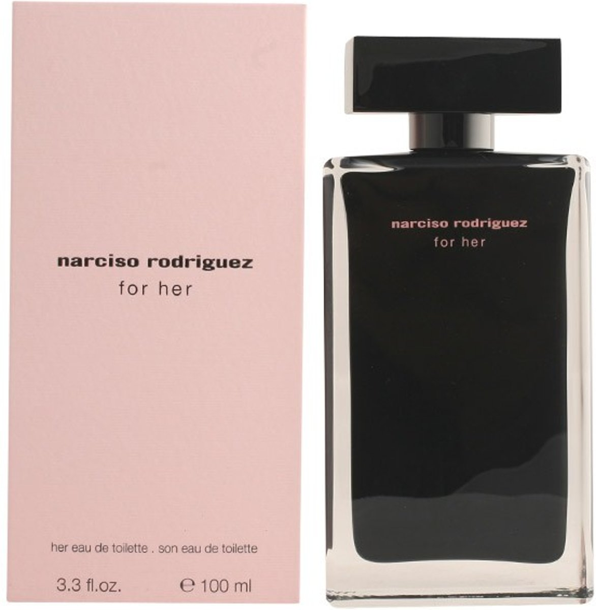 MULTI BUNDEL 2 stuks NARCISO RODRIGUEZ FOR HER Eau de Toilette Spray 100 ml
