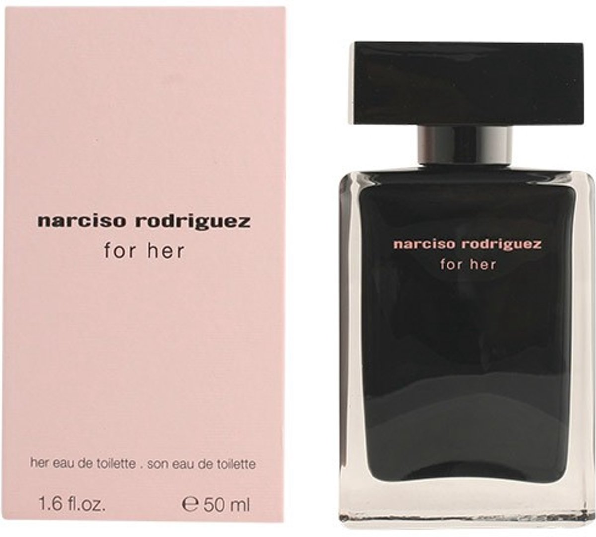 MULTI BUNDEL 2 stuks NARCISO RODRIGUEZ FOR HER eau de toilette spray 50 ml