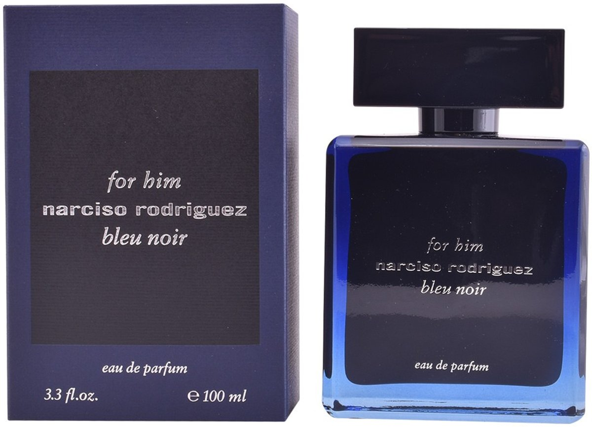 MULTI BUNDEL 2 stuks NARCISO RODRIGUEZ FOR HIM BLEU NOIR Eau de Perfume Spray 100 ml