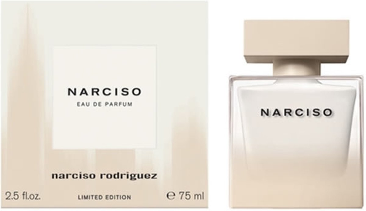 MULTI BUNDEL 2 stuks Narciso Rodriguez Eau De Perfume Spray 75ml Limited Edition