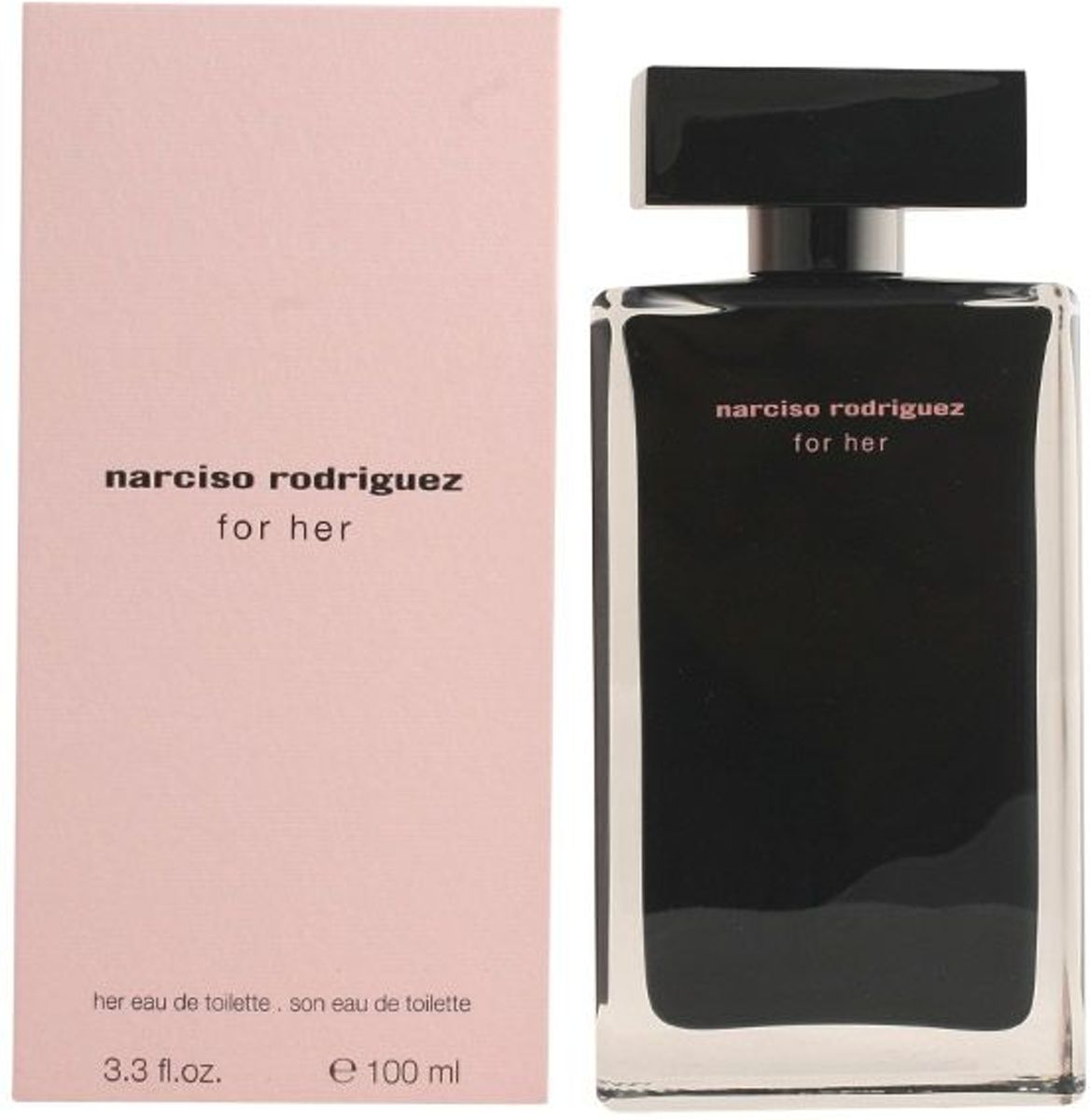 MULTI BUNDEL 2 stuks Narciso Rodriguez For Her Eau De Toilette Spray 100ml