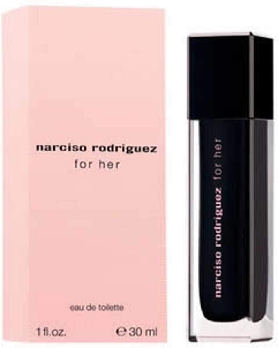 MULTI BUNDEL 4 stuks Narciso Rodriguez For Her Eau De Toilette Spray 30ml