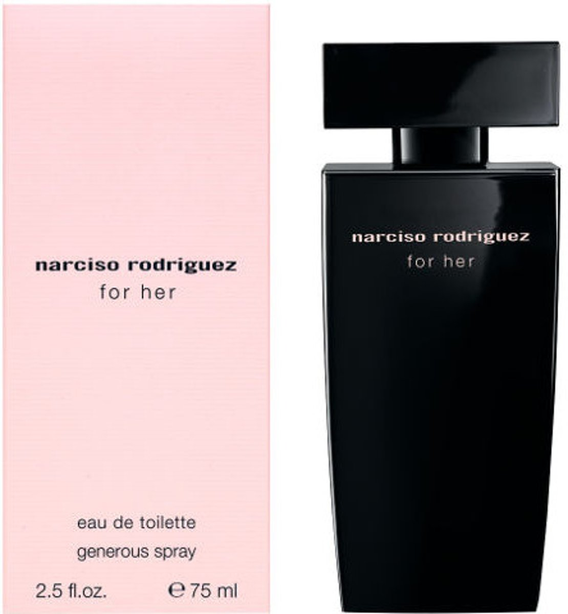 Narciso Rodriguez FOR HER edt spray generous spray 75 ml