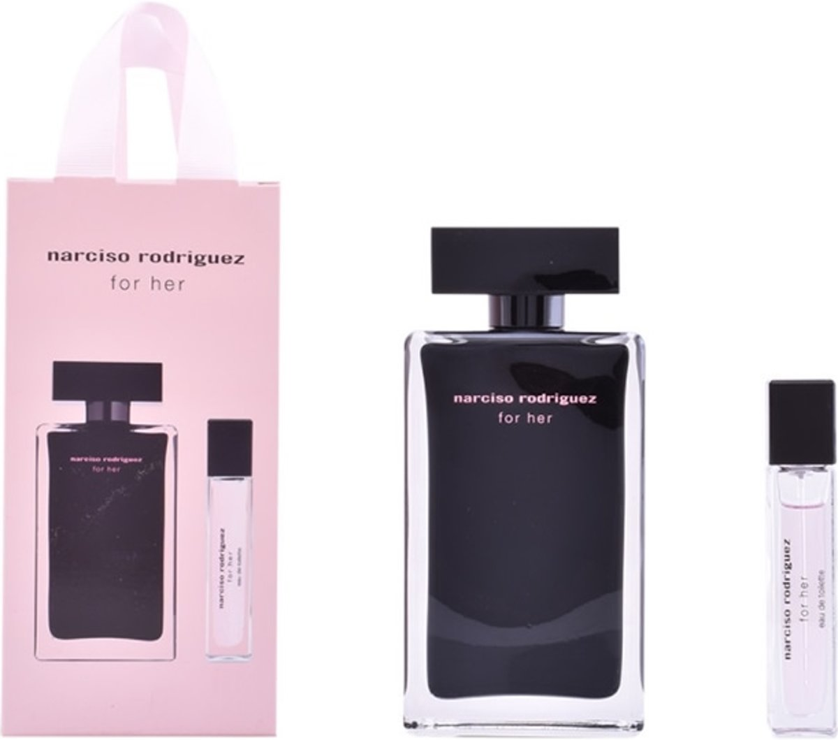 Narciso Rodriguez For Her Edt Spray 100Ml Set 2 Pieces