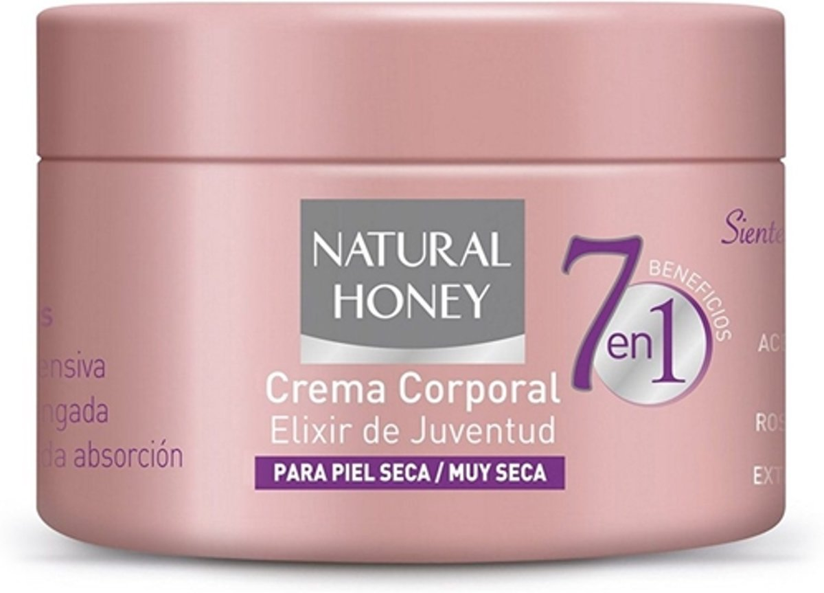 7 EN 1 BENEFICIOS crema corporal 250 ml