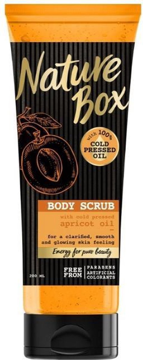 NATURE BOX Scrub Apricot Smoothness x1